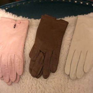 Accessories - Leather gloves in Womens